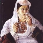 The Albanian Monalisa