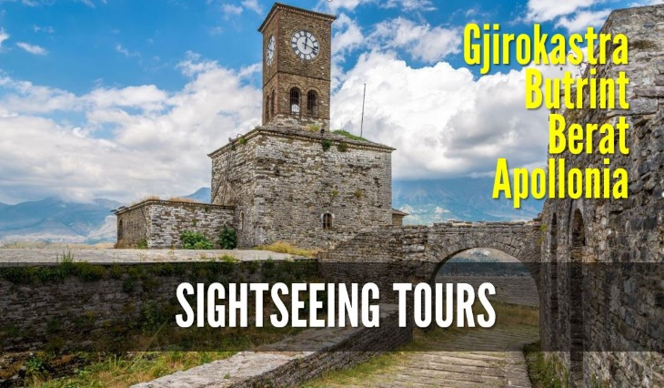 Sightseeing tours in albania