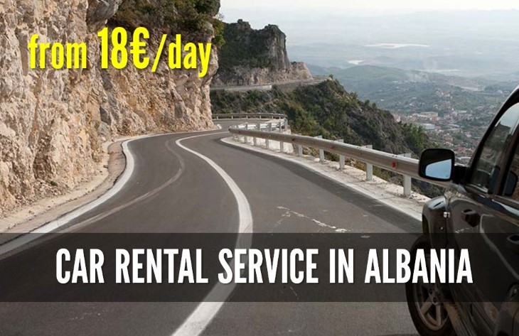 Car rental service in Albania