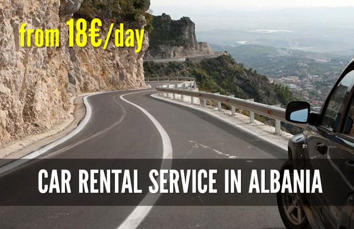 Car rental service in Albania
