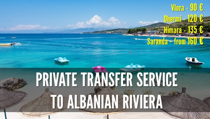 Private transfer service in Albania