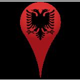 Карта отелей Албании