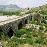Уникальный мост в провинции Шкодер