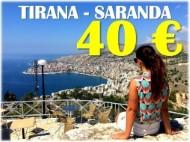 Билеты на автобус Тирана-Саранда