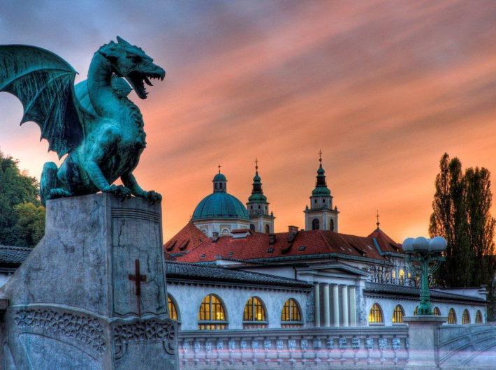 Авиабилеты в Любляну из Москвы