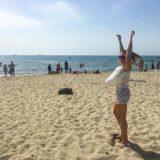 Having fun at Dürres beach  ️🏻 want to feel the same ? JOIN 🖐🏻 at gotoalbania.ru #gotoalbania #travelwithus #албанияпляж #дуррес #адриатическоеморе #чистаявода #валбанию #лето2018