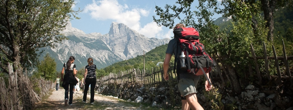 Восхитительные Албанские Альпы
